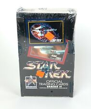 1991 Star Trek Official Trading Cards Series II 25th Anniversary Factory Sealed