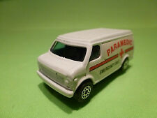 CORGI TOYS JUNIORS CHEVROLET VAN - AMBULANCE - 1:60? -  VERY GOOD CONDITION