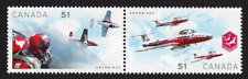 Canada Stamps - Se-tenant Pair - Canadian Forces: Snowbirds #2159a (2158-59) MNH