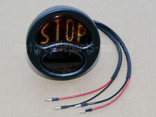 "Motorcycle ""Stop"" Vintage Tail Brake Stop Light For Harley Chopper Bobber Black"