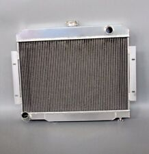 3 ROWS/CORES ALUMINUM RADIATOR FIT JEEP CJ-7 Series 70-86 ALL TIG WELDED