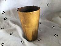 ANTIQUE 1800's OX/COW HORN BEAKER Lovely patina 10cm Tall