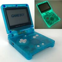 Nintendo GameBoy Advance SP GBA AGS-001 Glow in the Dark GBA Game Boy Console