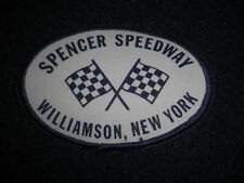 1980's Spencer Speedway Williamson New York Patch
