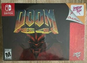 DOOM 64 Classic Edition Limited Run Games #081 - Nintendo Switch NEW - In Hand