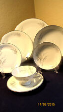 "EDELSTEIN 20429 ""FAIRFIELD"" THREE 7-PIECE PLACE SETTINGS  $225  VALUE"