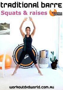 Ballet Barre DVD - Barlates Body Blitz Traditional Barre Squats and Tucks