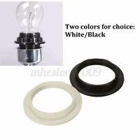 E27 Bulb Lamp Shade Ring Adapter Plastic Light Collar Converter Black/White