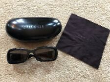 Gucci Black with Silver Horsebit Detail Womens Sunglasses