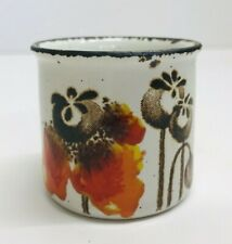 Midwinter Ironstone Staffordshire Egg cup with Poppy Design Vintage