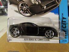 Hot Wheels Alfa Romeo 8C Competizione HW City Black