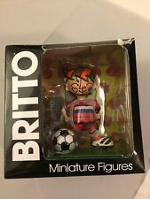 Romero Britto Mini Figurine World Cup Figure Russia #333133 w/Box & Tag Enesco
