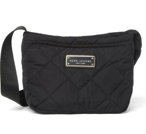 NWT Marc Jacobs Quilted Nylon Crossbody Small Messenger Bag $195.00
