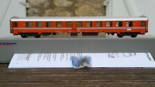 de coffret LS Models World MW1602 Voiture Eurofima I10 B11 orange C1 Ep.V SNCB