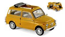 Fiat 500 Giardiniera 1968 Positano Yellow 1:18 Model 187724 NOREV