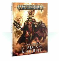 Battletome Blades of Khorne Warhammer Age of Sigmar 40K