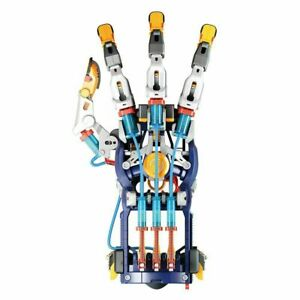 Hydraulic Cyborg Hand Construction Kit STEM Water Powered Christmas Birthday