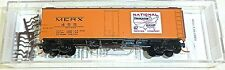 National packing Company 40 STEEL Ice Micro Trains 059 00 161 N 1:160 emb.orig