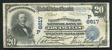 1902 $20 DB FARMERS & MERCHANTS NB LOS ANGELES, CA NATIONAL CURRENCY CH. #6617