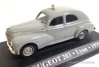 1/43 PEUGEOT 203 TAXI LYON 1955 IXO ALTAYA DIECAST