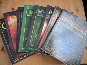 GURPS manual - Psionics - Steve Jackson Games