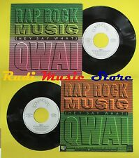 LP 45 7'' QWAI Rap rock music 1987 italy CONTINENTAL CTL 10751 no cd mc dvd