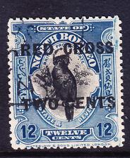NORTH BORNEO 1981 SG224 12c + 2c RED CROSS overprint - very fine used. Cat £55