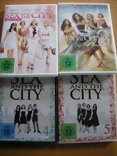 DVD Sex and the city Teil 1+2 neuwertig Staffel 4+5 neu