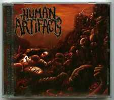 CD metal HUMAN ARTIFACTS : The principles of sickness / Comatose Music 2007