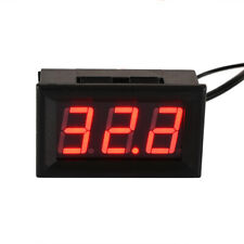 12V LED Display Digital Temperature Meter -50°C~ +110°C Thermometer Sensor