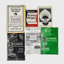 Stamp Books Vintage Catalogs and More