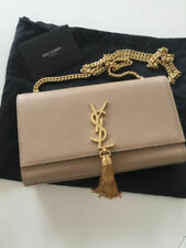??**YSL**Yves Saint *Laurent *KATE *Tasche* Bag Clutch *Satchel* Beige *Gold