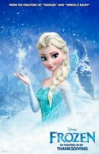 Walt Disney's Frozen movie poster print  :  11 x 17 inches - Frozen poster (B)