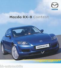 MAZDA rx-8 Contest prospetto 15.11.05 (D) brochure auto prospetto auto PKW Giappone