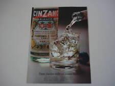 advertising Pubblicità 1972 CINZANO BIANCO