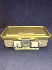 "V. MUELLER GENESIS CD0-3B Mini Sterilization Container 10x6x3"" Good Condition"