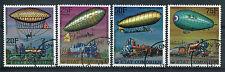 COMORES 1977, timbres 179/182, DIRIGEABLES, oblitérés