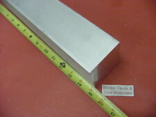 "2"" X 2"" ALUMINUM 6061 SQUARE BAR 15"" long T6511 2.00"" Solid Flat Stock"