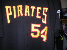 2005 Spin Williams Pittsburgh Pirates Game Used Worn Alternate Jersey COA