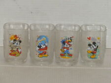 New listing Mcdonald'S Disney Mickey Mouse 2000 Millenium Glasses Complete Set Of (4) Mint