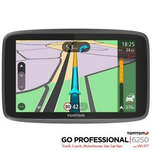 TomTom 6250 Sat Nav GO Professional Truck HGV Trucker Lifetime Maps & Traffic