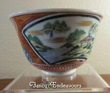 Hand Painted Japanese Kutani Imari Tea Cup Beautiful & Highly Detailed!