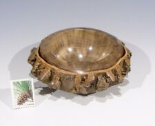 BUTTERNUT Branch -13180- G+ Hand Turned Wood Bowl SMITHSONIAN Walsh
