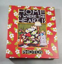 Mary Engelbreit Photo Album - Home Is Where the Heart Is