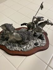 1987 Signed Legends THE TABLES TURNED Bronze Sculpture by C.A. Pardell 213/2500