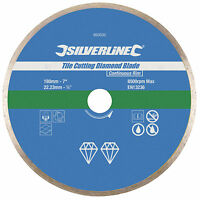 DIAMOND TILE CUTTING BLADE DISC GRINDER CUTTER Continuous Rim 180 x 22.23