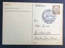 Stamp Germany Special Historic Cover Cancellation Volkswagen Cornerstone 1938