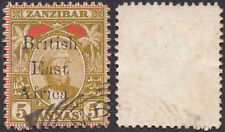 "British East Africa 1897 SG 84 Unlisted ""Br1tish"" Error FU. SEE DESCRIPTION"