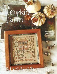 Pumpkin Farm by Blackbird Designs cross stitch pattern