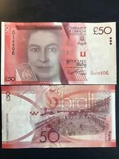 UNC Gibraltar £50 Fifty Pound Banknote 2010 Issue P-38